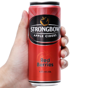 Strongbow dâu lon 330ml