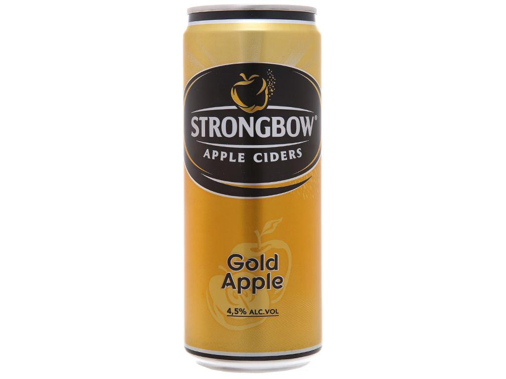 Strongbow táo lon 330ml 1