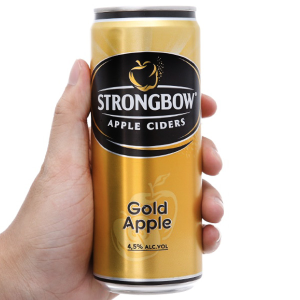 Strongbow táo lon 330ml