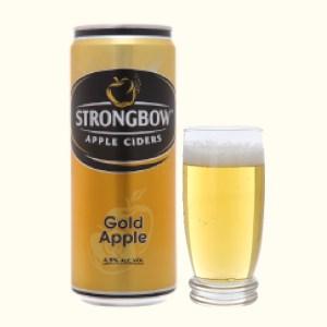 Strongbow táo lon 330ml