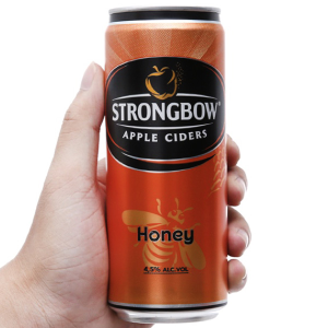 Strongbow mật ong lon 330ml