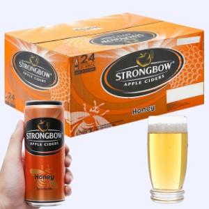 Thùng 24 lon Strongbow mật ong 330ml