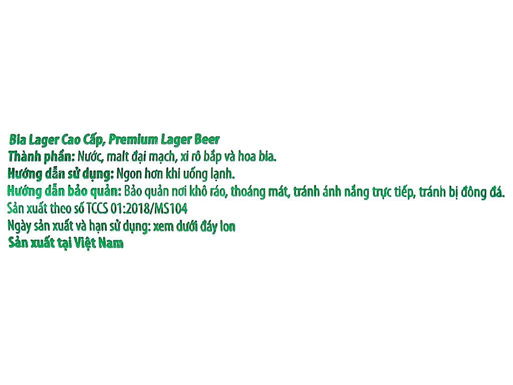 Thùng 24 lon bia Sư Tử Trắng King 330ml 7