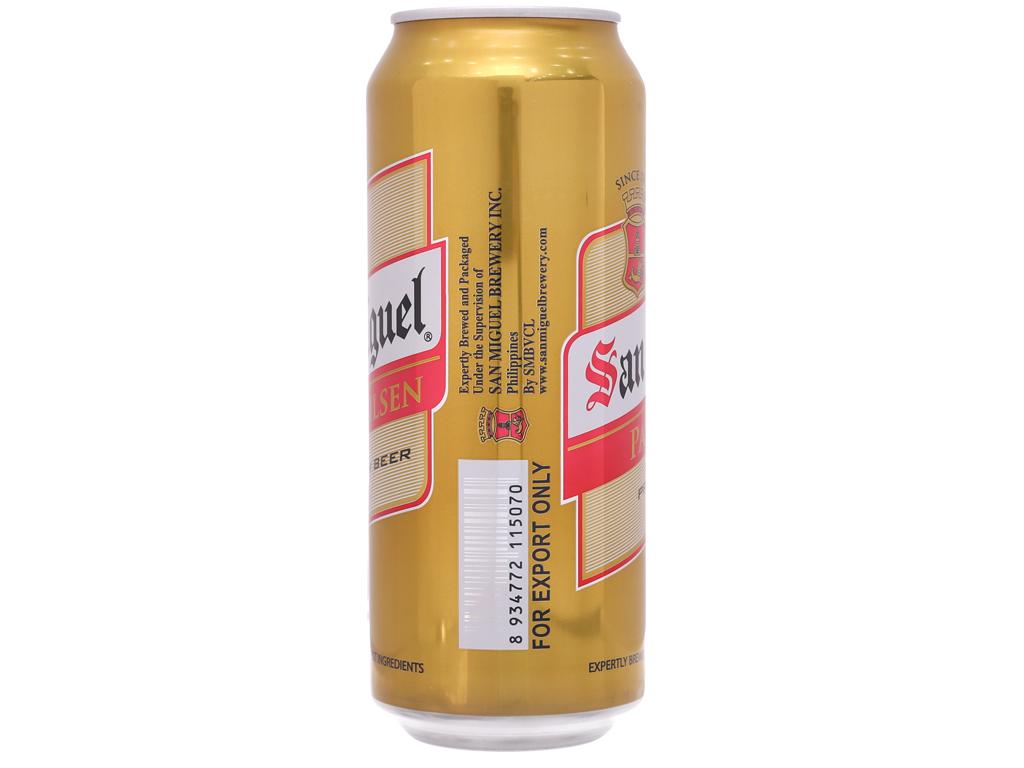 Thùng 12 lon bia San Miguel Pale Pilsen 500ml 3