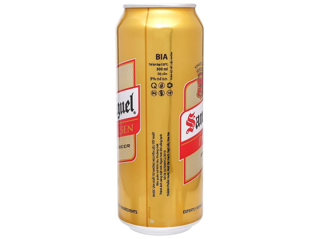 Thùng 12 lon bia San Miguel Pale Pilsen 500ml 7