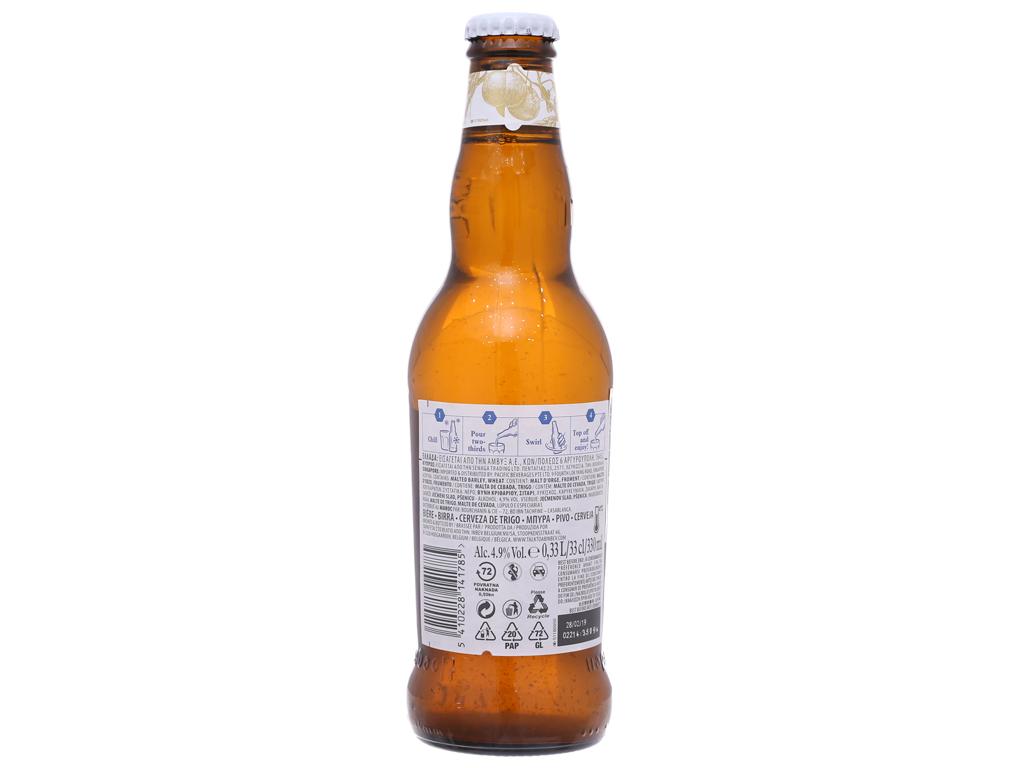 Thùng 24 chai bia Hoegaarden 330ml 3
