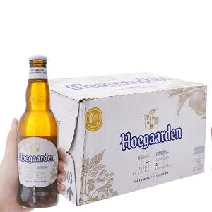 Thùng 24 chai bia Hoegaarden 330ml