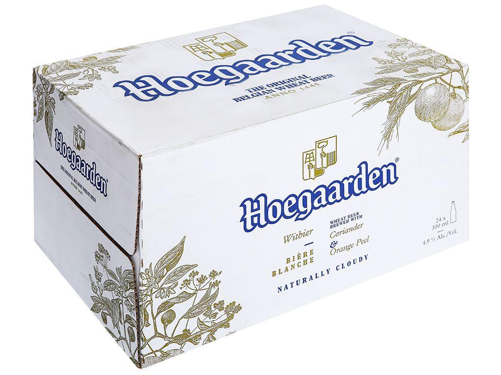 Thùng 24 chai bia Hoegaarden 330ml 1