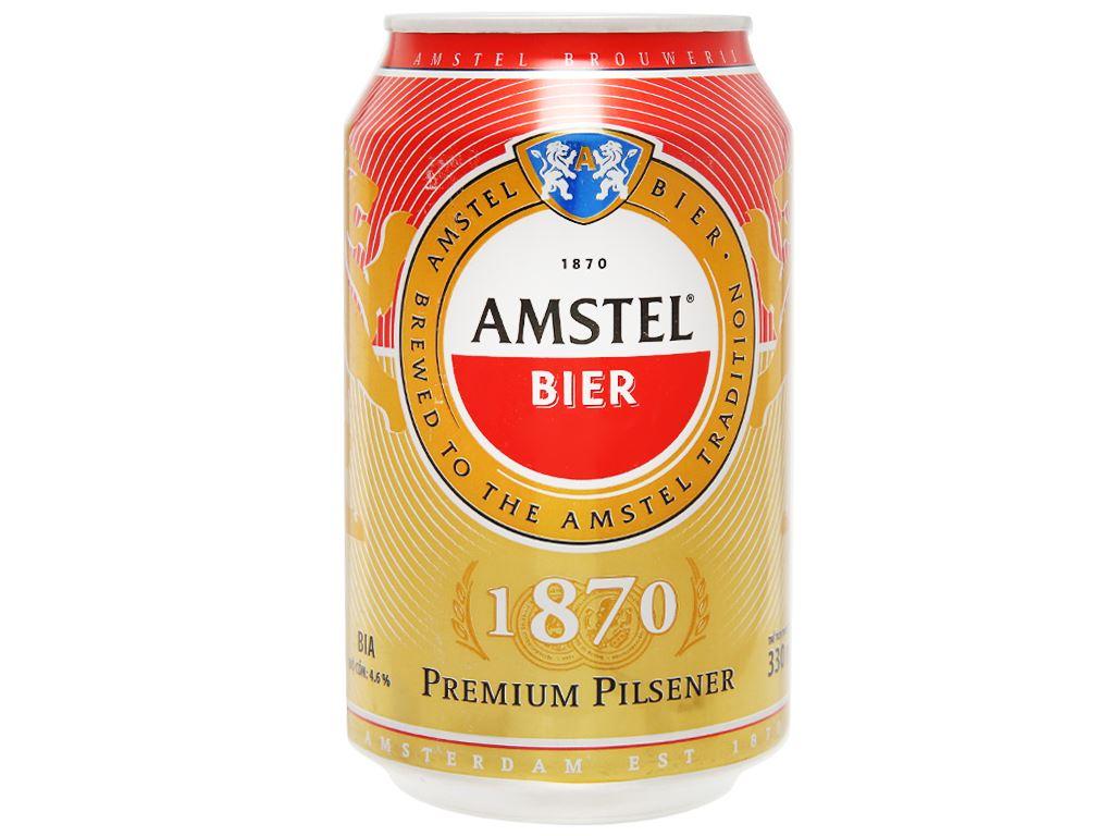 Bia Amstel 330ml 1