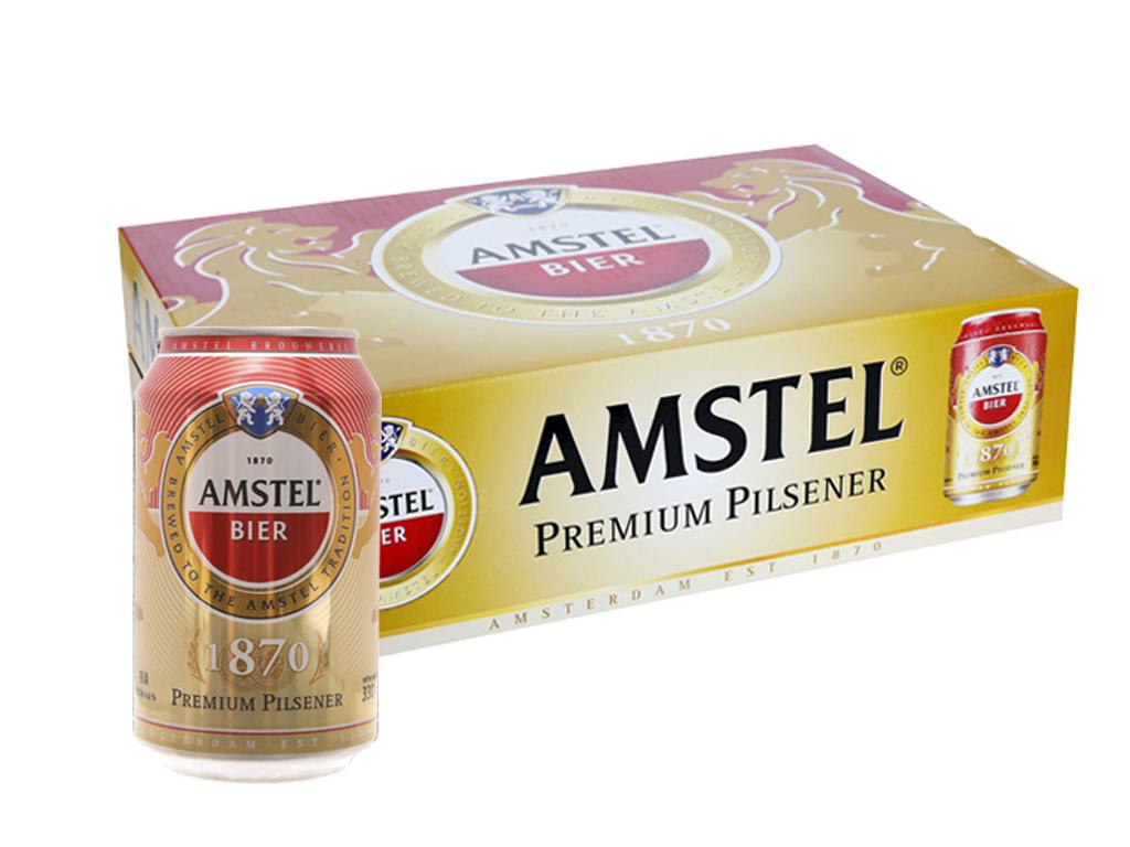Thùng 24 lon Bia Amstel 330ml 1