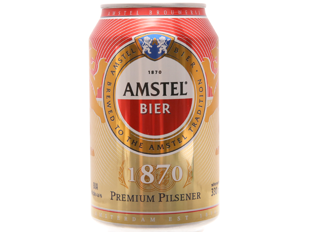 Thùng 24 lon bia Amstel 330ml 2