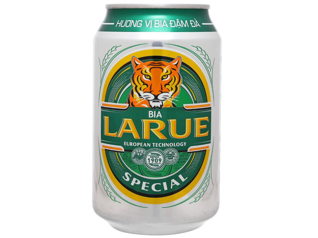 6 lon bia Larue Special 330ml 5