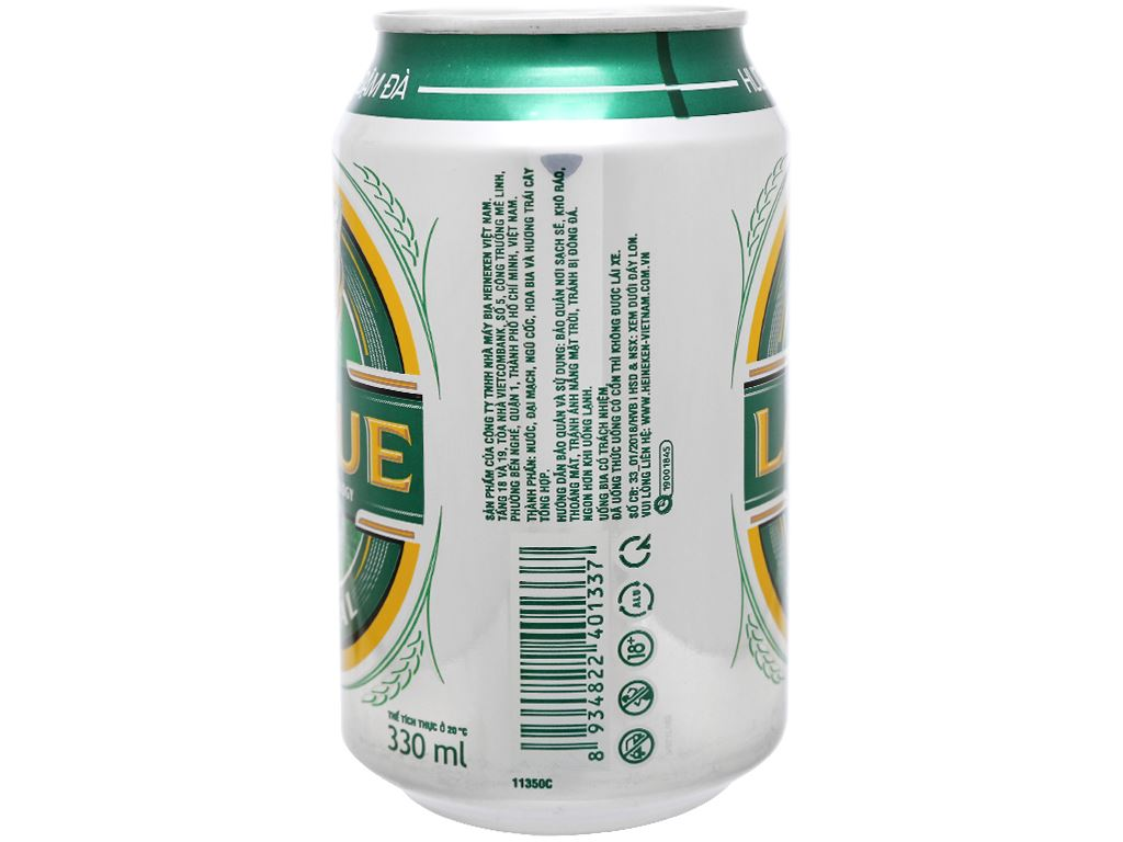 6 lon bia Larue Special 330ml 6
