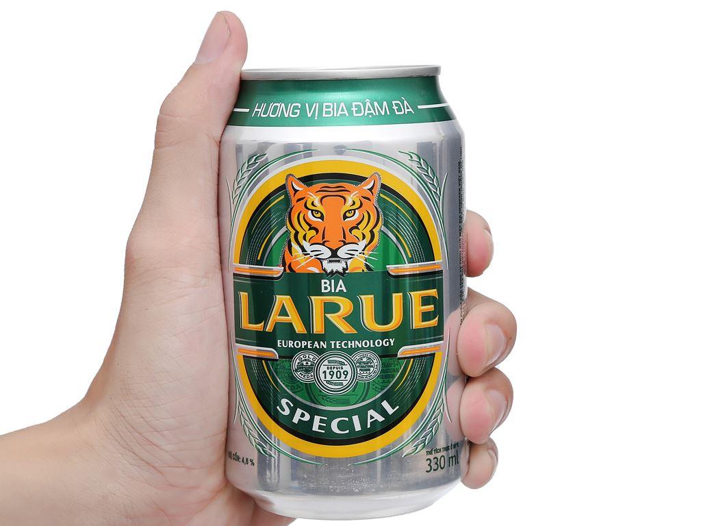 6 lon bia Larue Special 330ml 8
