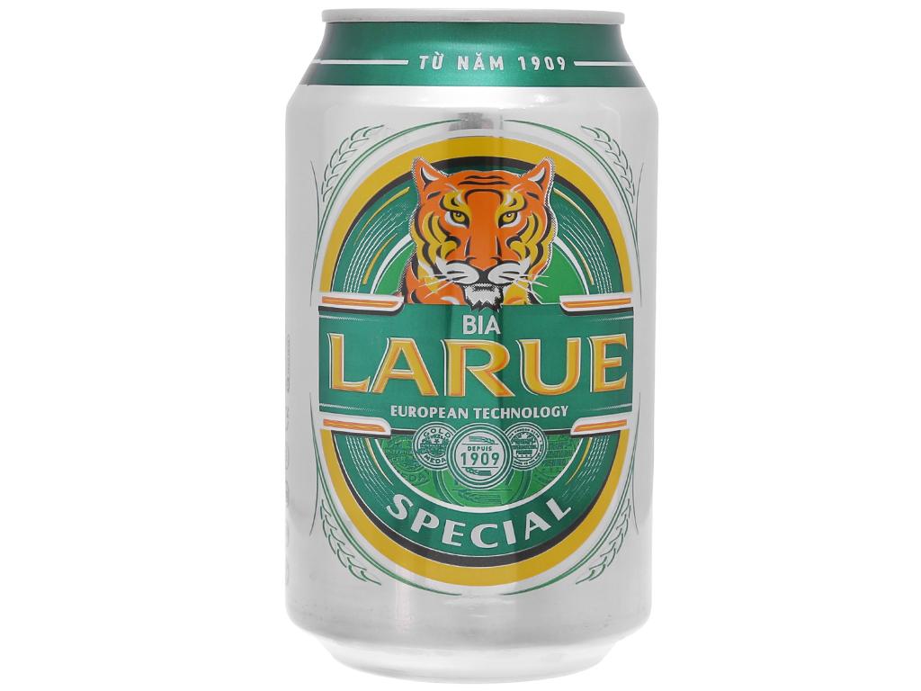 6 lon bia Larue Special 330ml 2