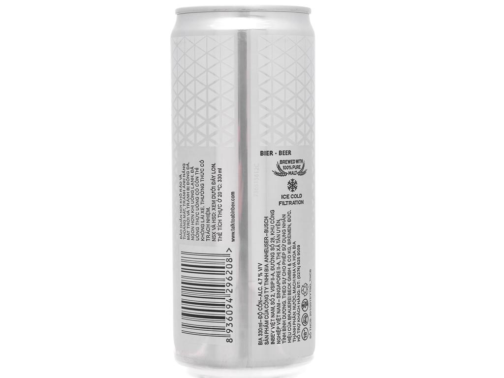 Lốc 6 lon bia Beck's Ice 330ml 3