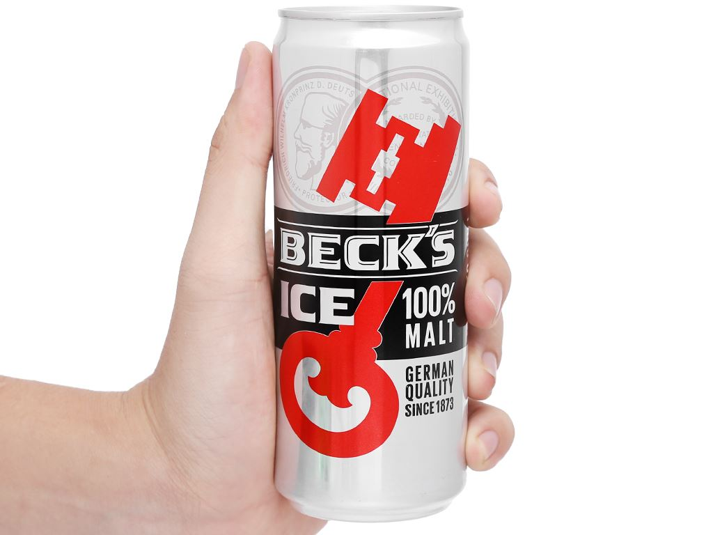Lốc 6 lon bia Beck's Ice 330ml 13