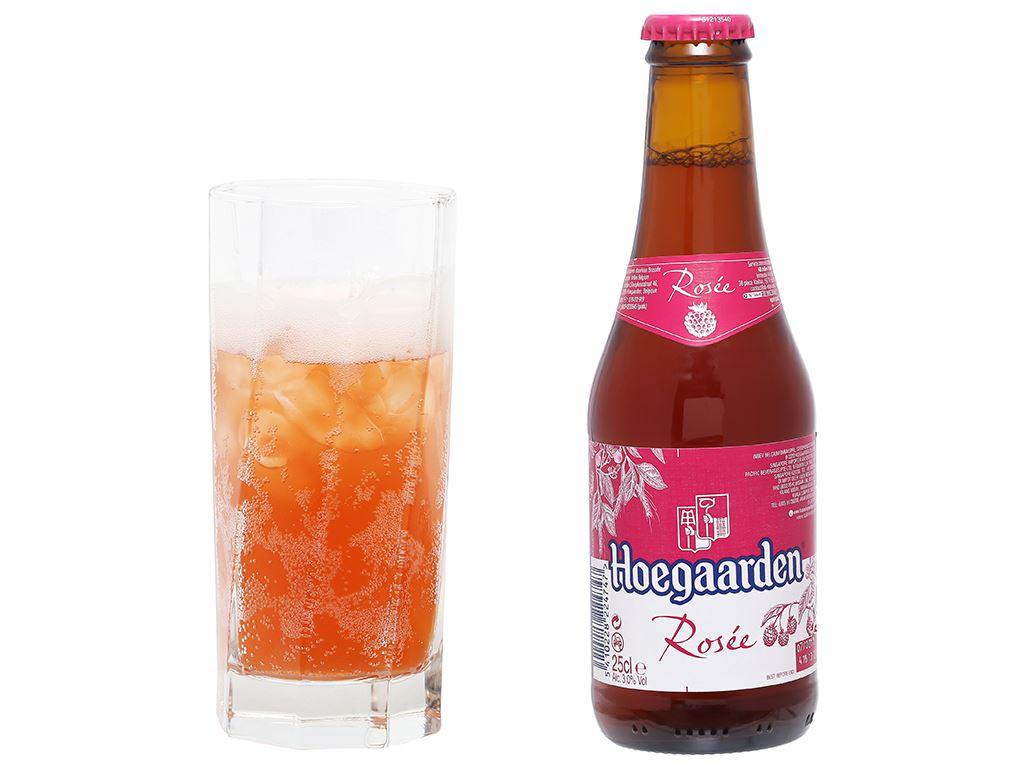 6 chai Hoegaarden Rosee 250ml 5