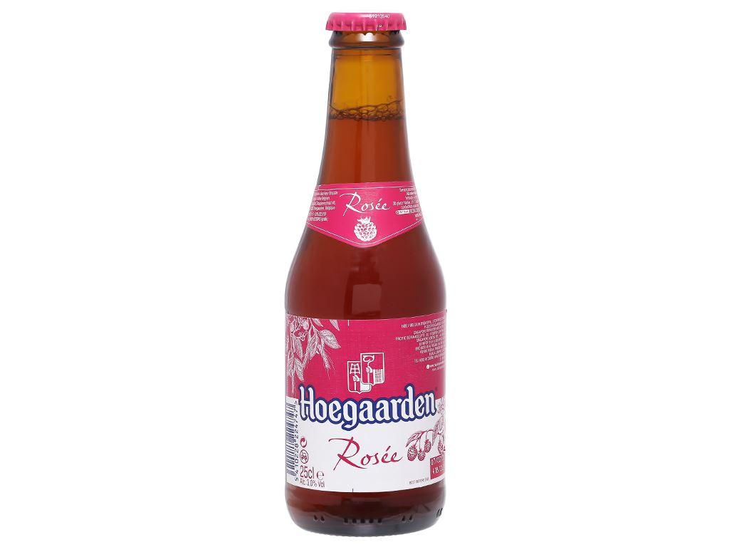 6 chai Hoegaarden Rosee 250ml 1