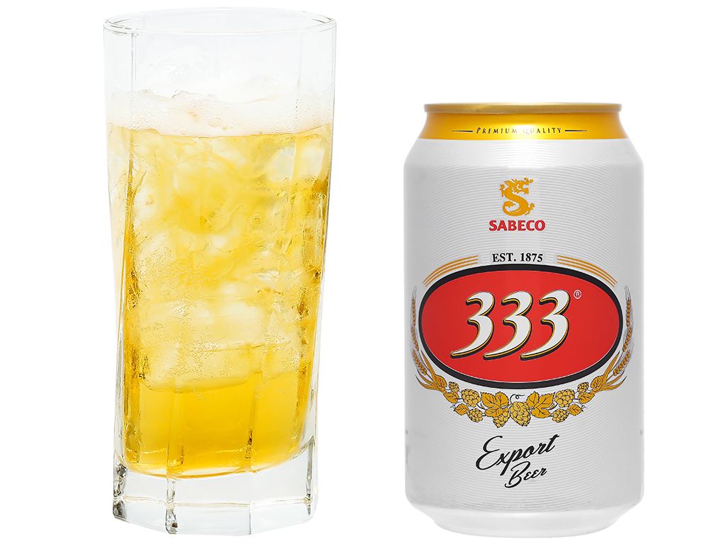 6 lon bia 333 330ml 5