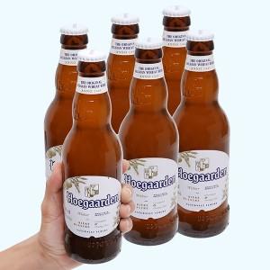 6 chai bia Hoegaarden 330ml