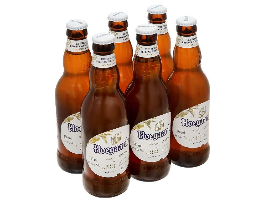 6 chai bia Hoegaarden 330ml 5