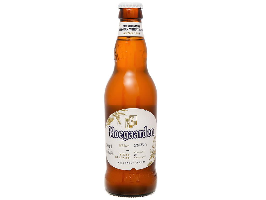 6 chai bia Hoegaarden 330ml 6
