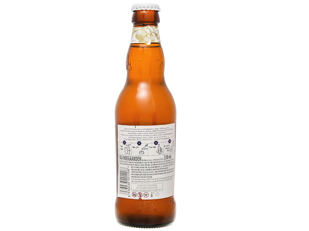 6 chai bia Hoegaarden 330ml 7