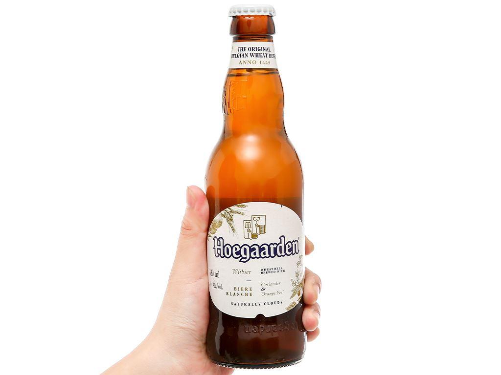 6 chai bia Hoegaarden 330ml 8