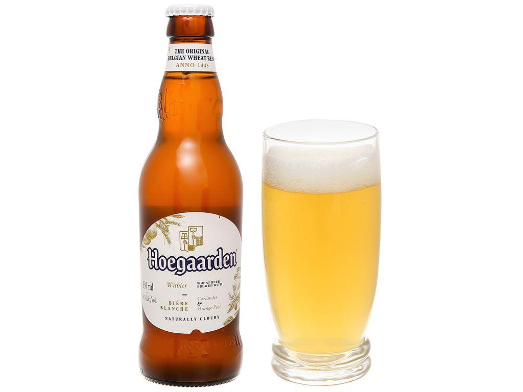 6 chai bia Hoegaarden 330ml 10