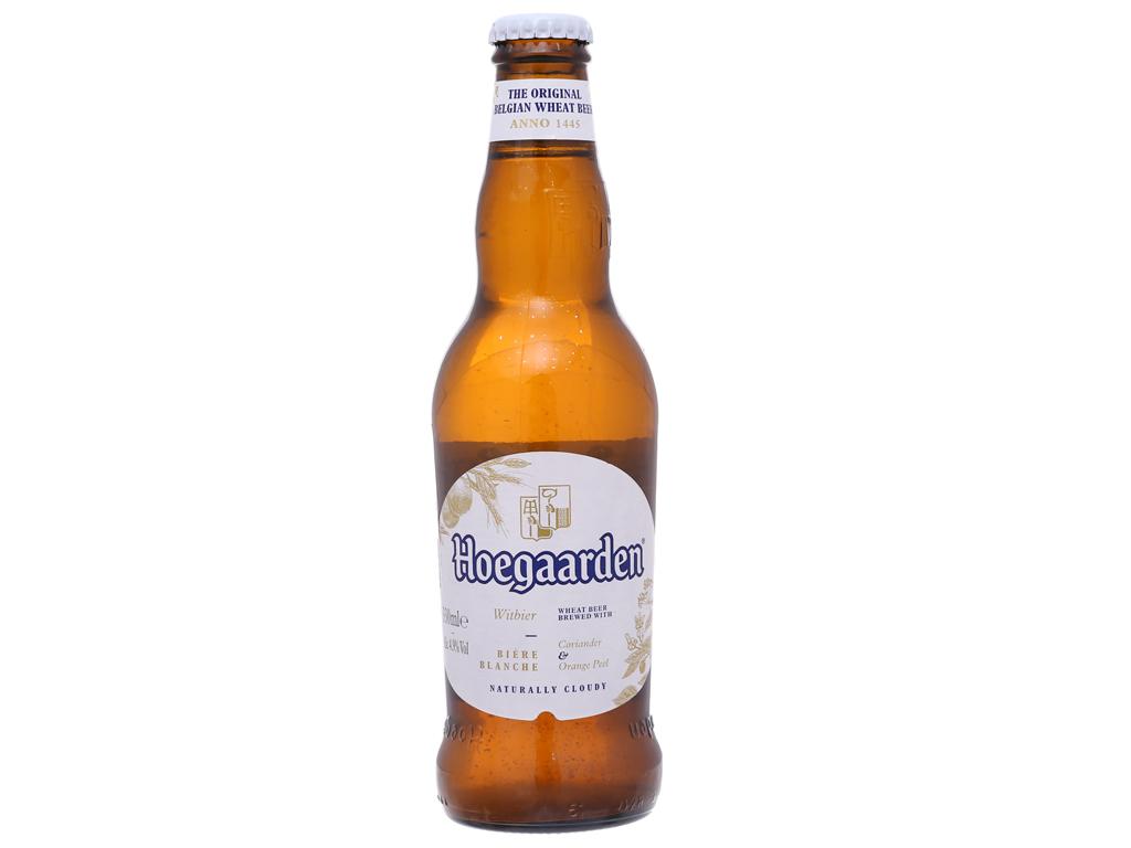 6 chai bia Hoegaarden 330ml 2