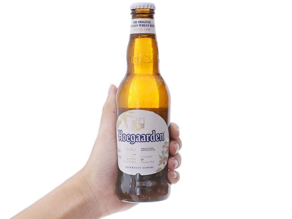 6 chai bia Hoegaarden 330ml 4