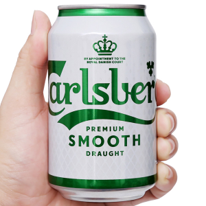 Bia Carlsberg Smooth Draught 330ml