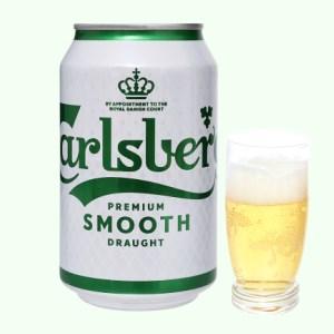 Bia Carlsberg Smooth Draught 330ml