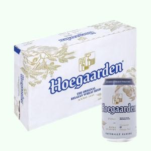 Thùng 24 lon Hoegaarden White 330ml