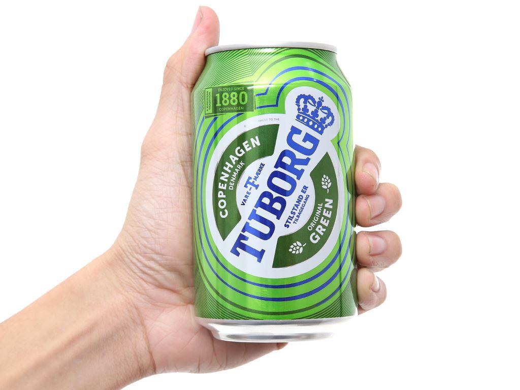 Thùng 24 lon bia Tuborg 330ml 5