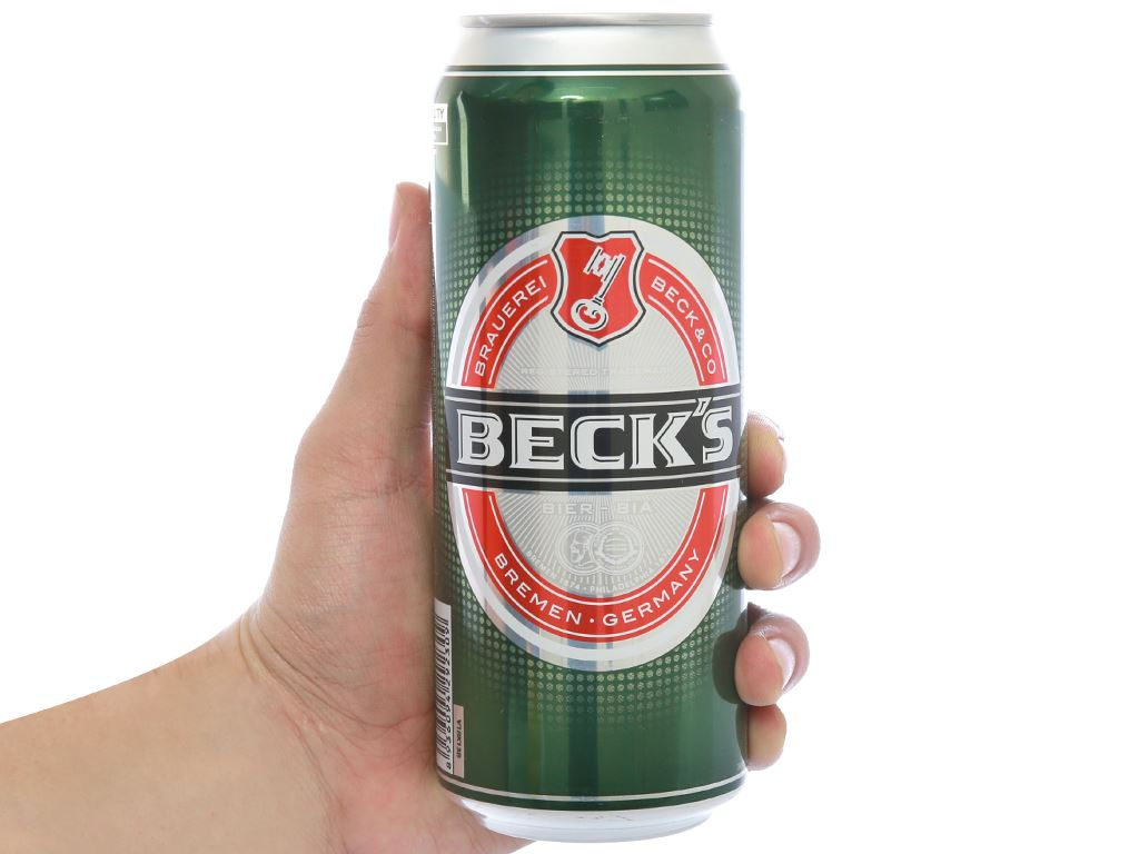 6 lon bia Beck's 500ml 3