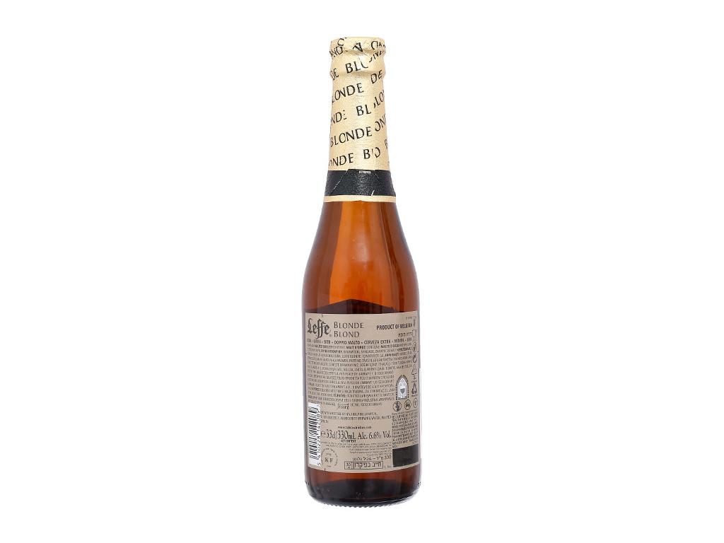 6 chai Bia Leffe Blonde 330ml 3