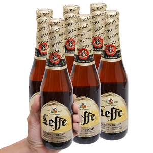 6 chai bia Leffe Blonde 330ml