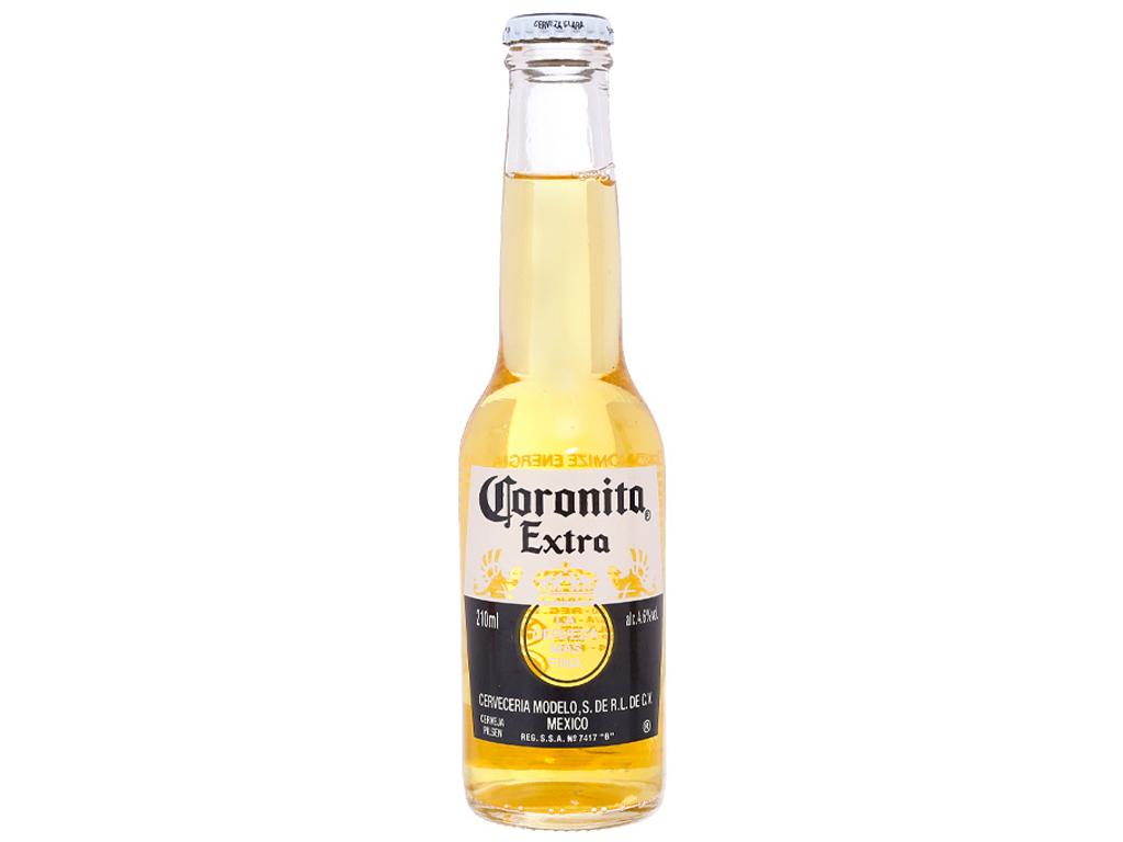 6 chai bia Coronita Extra 210ml 2