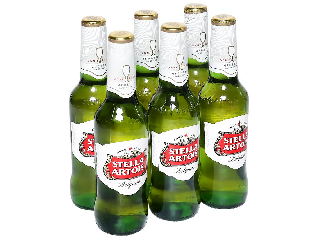 6 chai bia Stella Artois 330ml 1