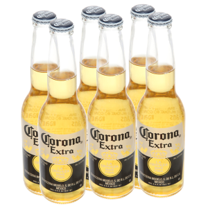 6 chai bia Corona Extra 355ml
