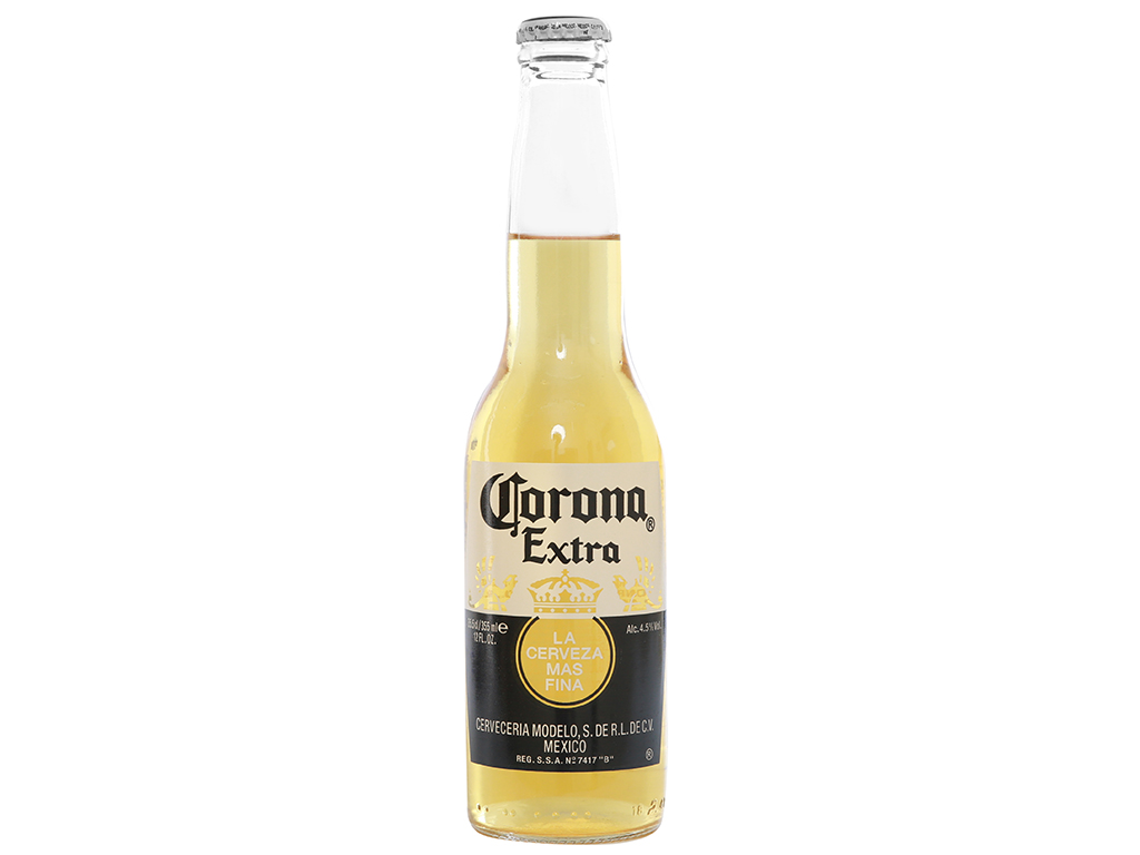 6 chai bia Corona Extra 355ml 2