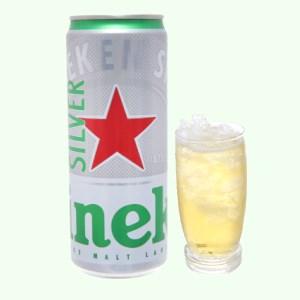 Bia Heineken Silver lon 330ml