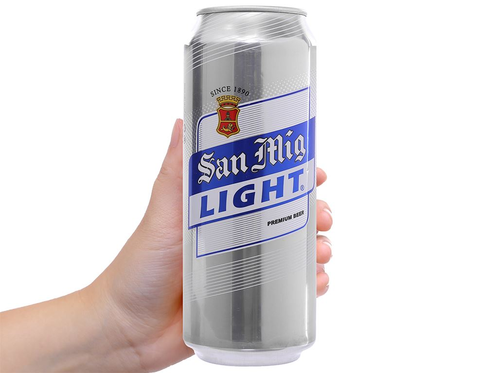Bia San Mig Light 500ml 4