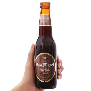 Bia San Miguel Cerveza Negra 330ml