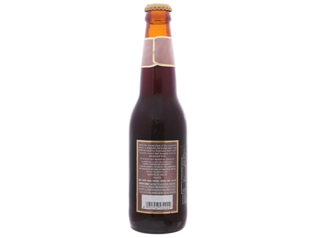 6 chai bia San Miguel Cerveza Negra 330ml 3