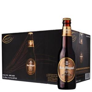 Thùng 24 chai bia San Miguel Cerveza Negra 330ml