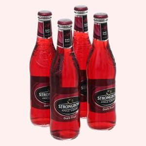 4 chai Strongbow dâu đen 330ml