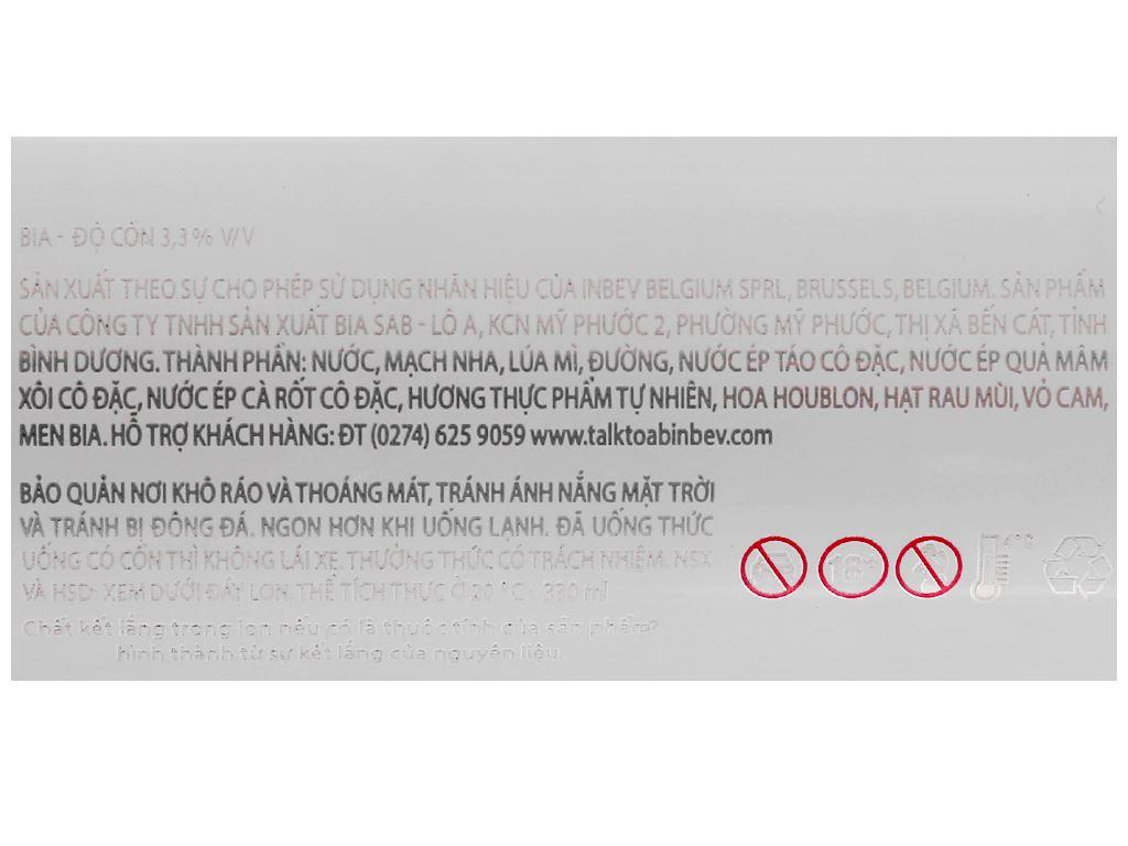 Bia Hoegaarden Rosée 330ml 4